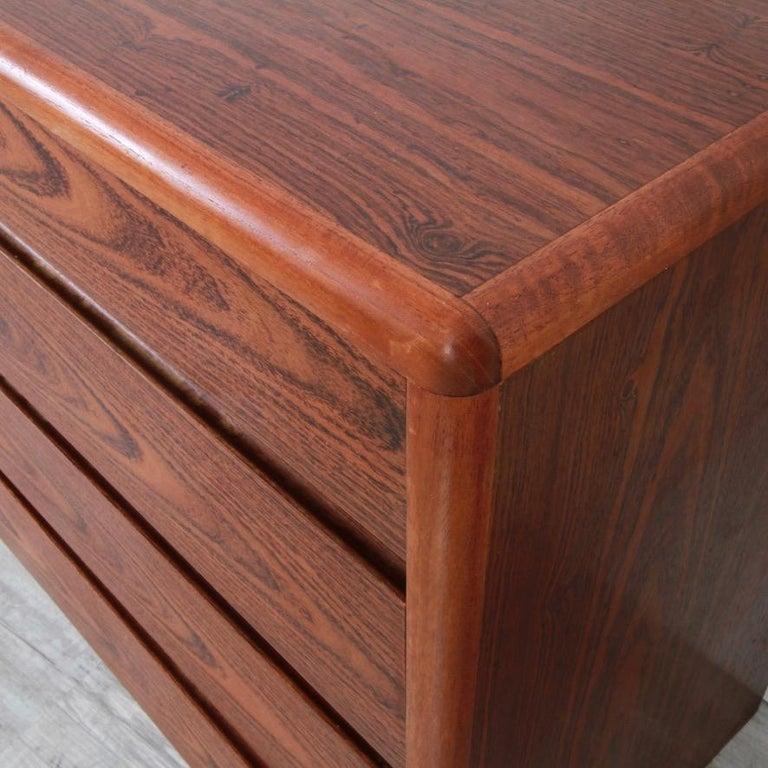 Mid-Century Modern Danish Rosewood Lowboy Dresser by Nordisk Andels-Eksport, Denmark For Sale