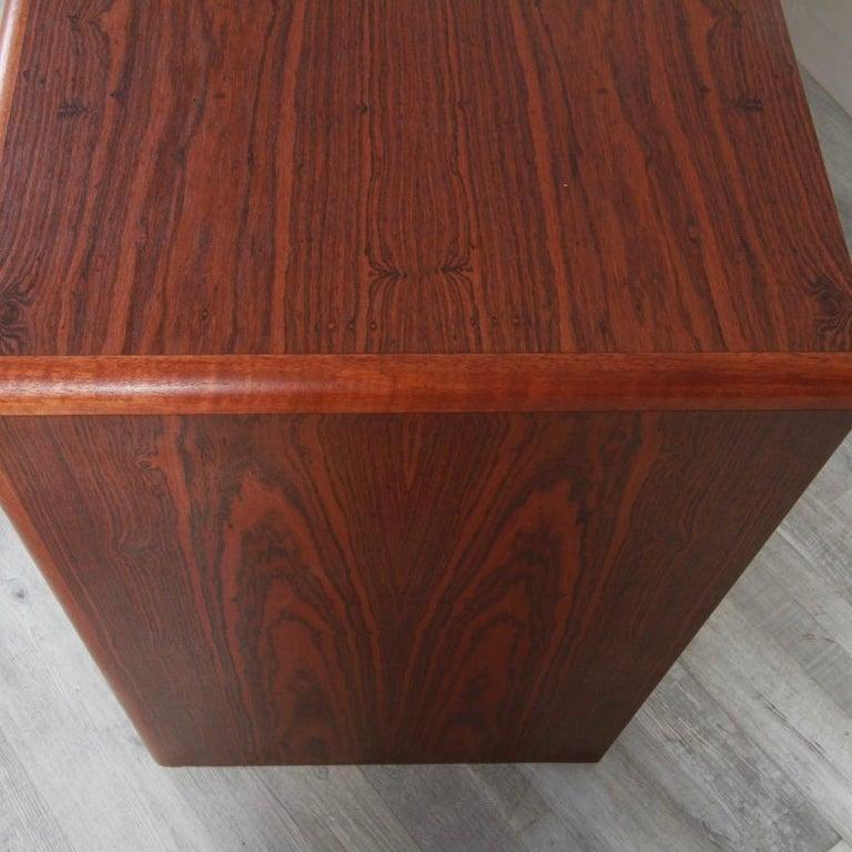 Danish Rosewood Lowboy Dresser by Nordisk Andels-Eksport, Denmark In Good Condition For Sale In New London, CT