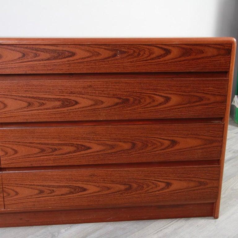 20th Century Danish Rosewood Lowboy Dresser by Nordisk Andels-Eksport, Denmark For Sale