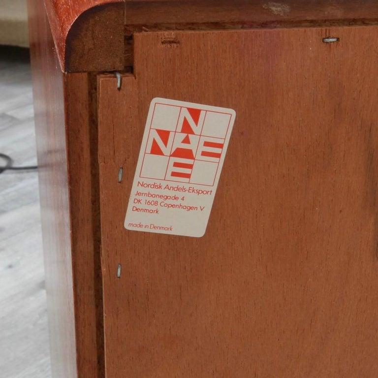 Danish Rosewood Lowboy Dresser by Nordisk Andels-Eksport, Denmark For Sale 1