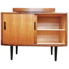 Danish Rosewood Media Cabinet Sideboard Unit MidCentury 1960s-1970s Vintage