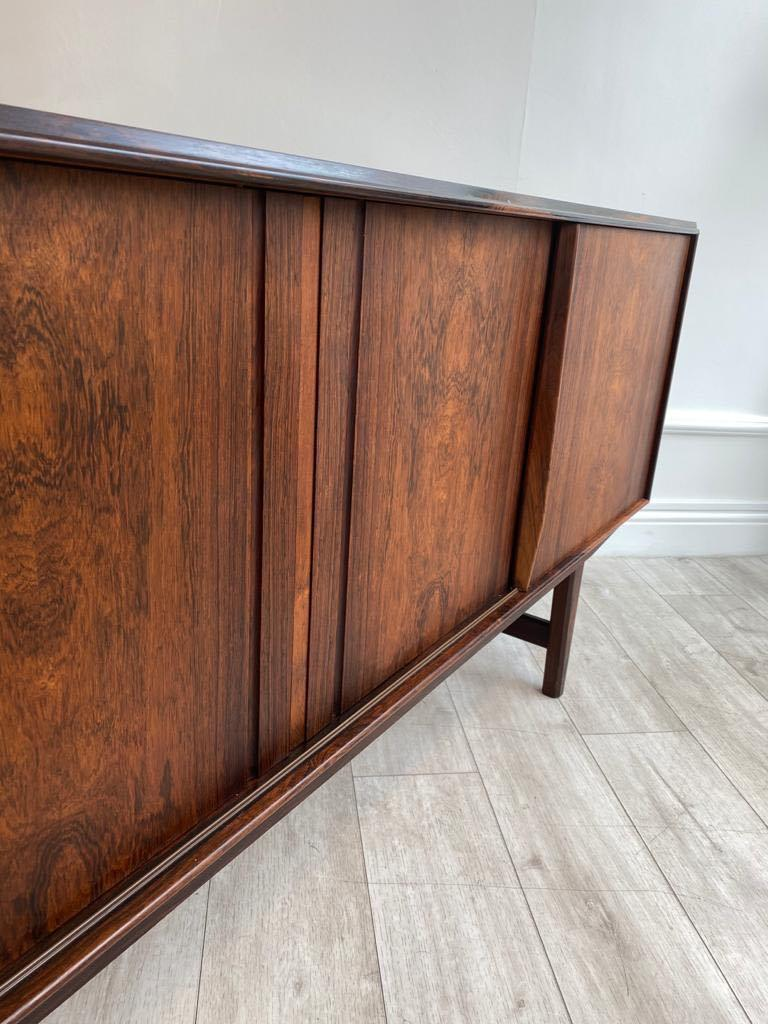 Mid-Century Modern Danish Rosewood Sideboard by E. W. Bach for Sejling Skabe, 1960s