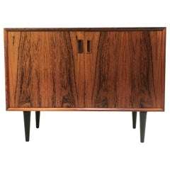 Danish Rosewood Sideboard Cabinet by Bornholm, Mid Century, 1960s