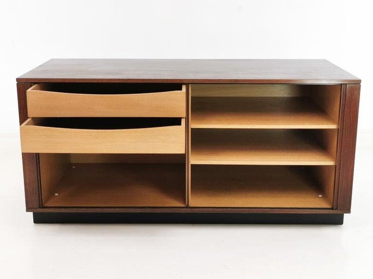 Scandinavian Danish Rosewood Sideboard Cabinet by Hornslet Mobelfabrik, Midcentury, 1960s For Sale