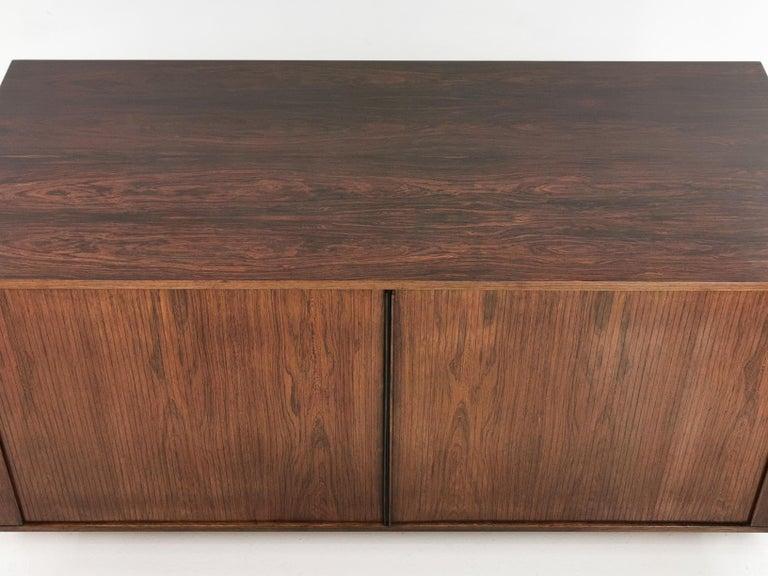 Teak Danish Rosewood Sideboard Cabinet by Hornslet Mobelfabrik, Midcentury, 1960s For Sale