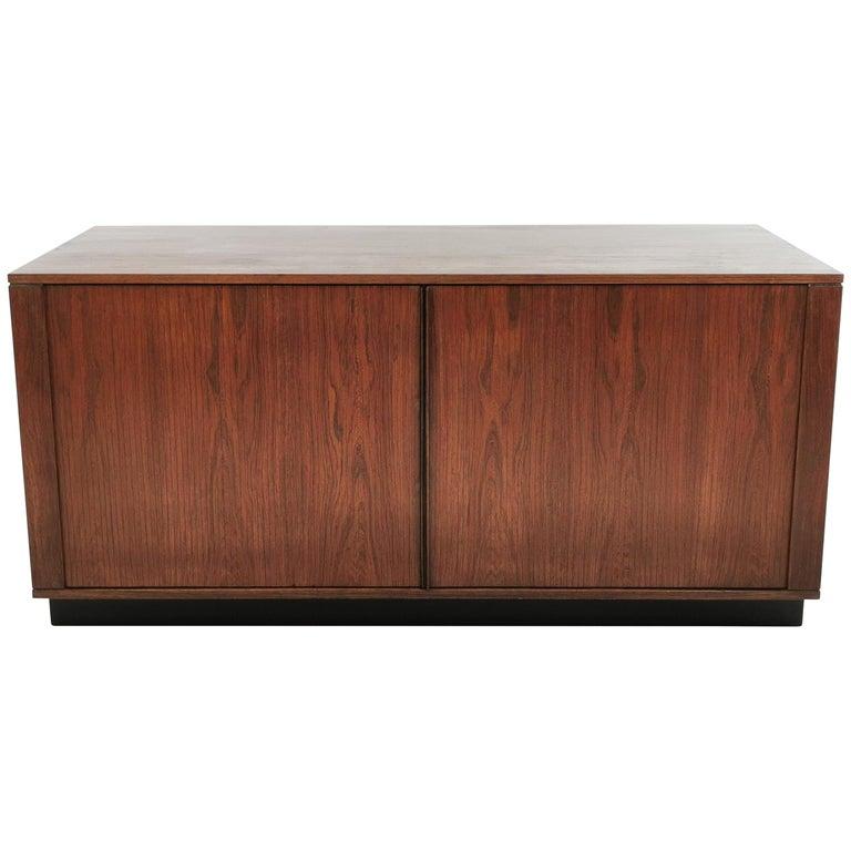 Danish Rosewood Sideboard Cabinet by Hornslet Mobelfabrik, Midcentury, 1960s For Sale