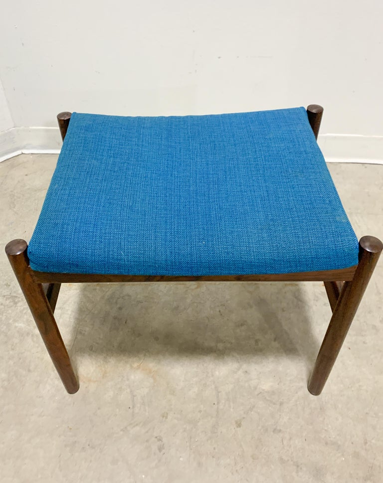 Danish Rosewood Stool by Spottrup For Sale 4