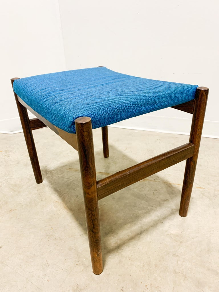 20th Century Danish Rosewood Stool by Spottrup For Sale