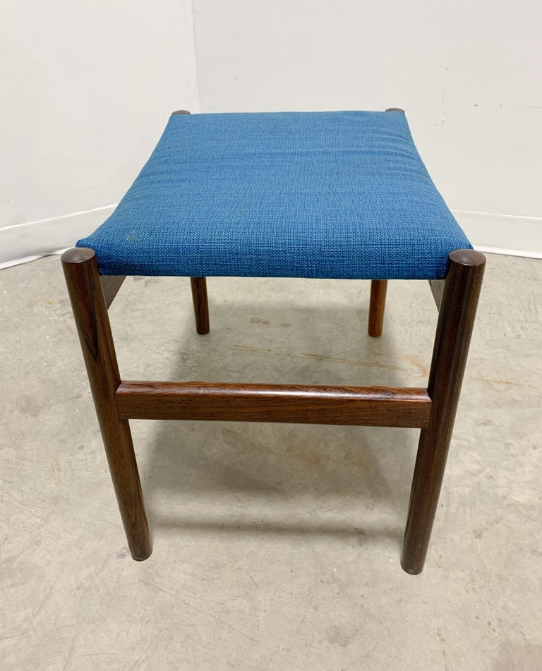Danish Rosewood Stool by Spottrup For Sale 3