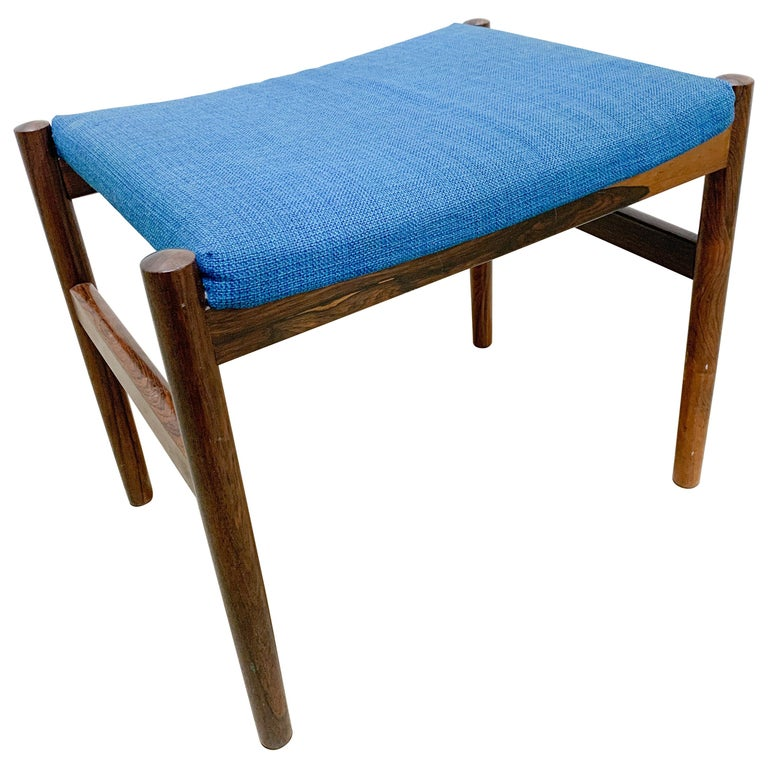 Danish Rosewood Stool by Spottrup For Sale
