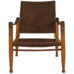 Danish Safari Chair by Kaare Klint for Rud Rasmussen