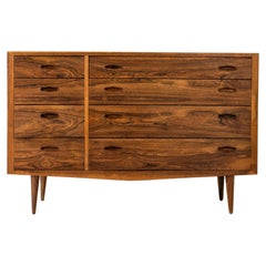 Danish Scandinavian Modern Midcentury Rosewood Chest of Drawers