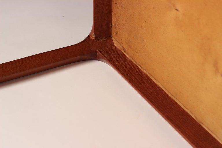 Scandinavian Modern Teak Low Sideboard No 394 by Kai Kristiansen For Sale 12