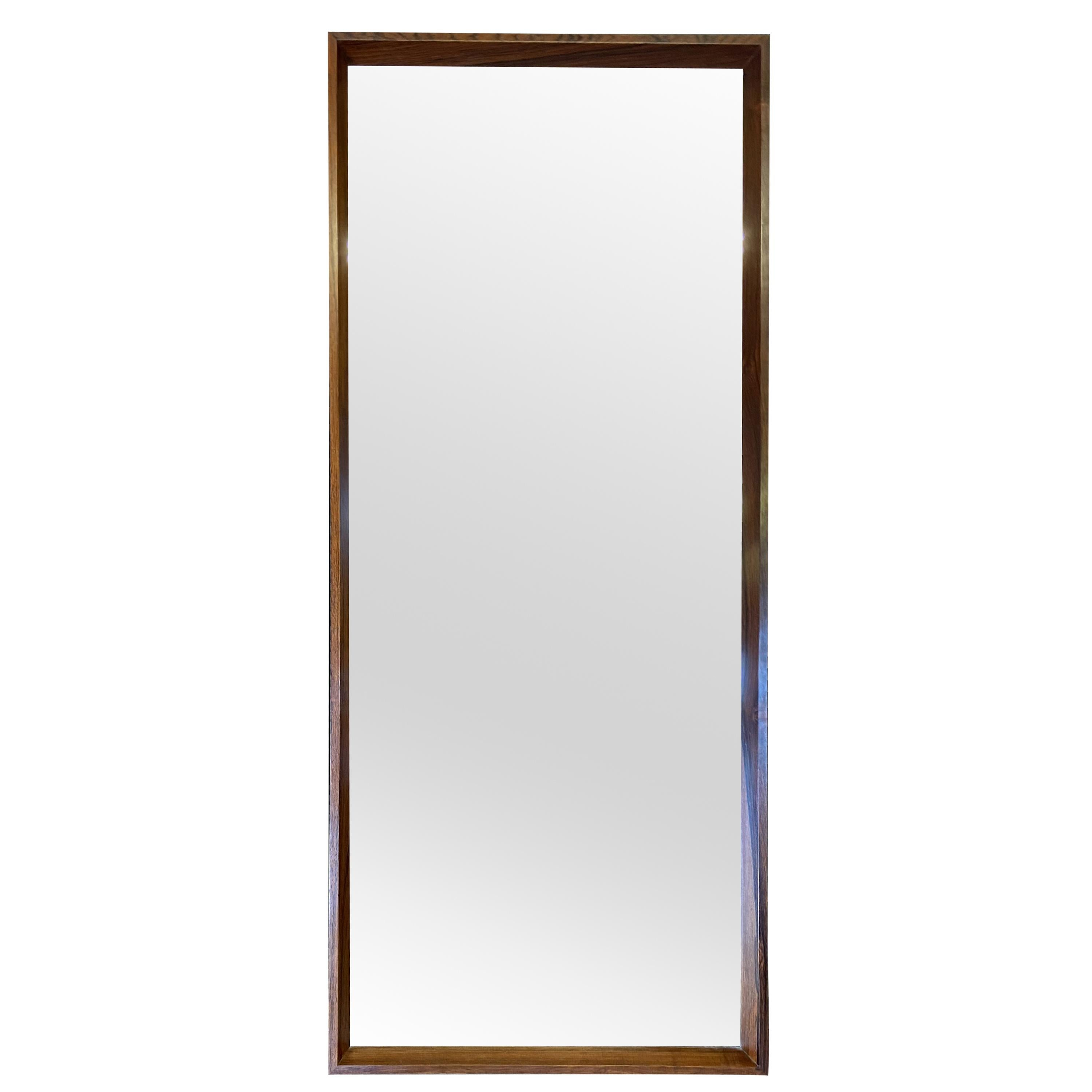 Danish Scandinavian Modern Wall Mirror