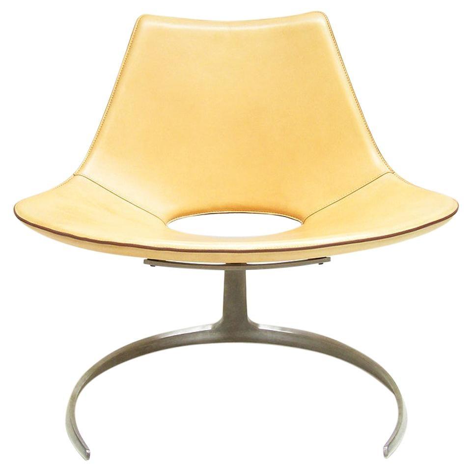 Danish Scimitar Chair by Preben Fabricius & Jørgen Kastholm for Bo Ex