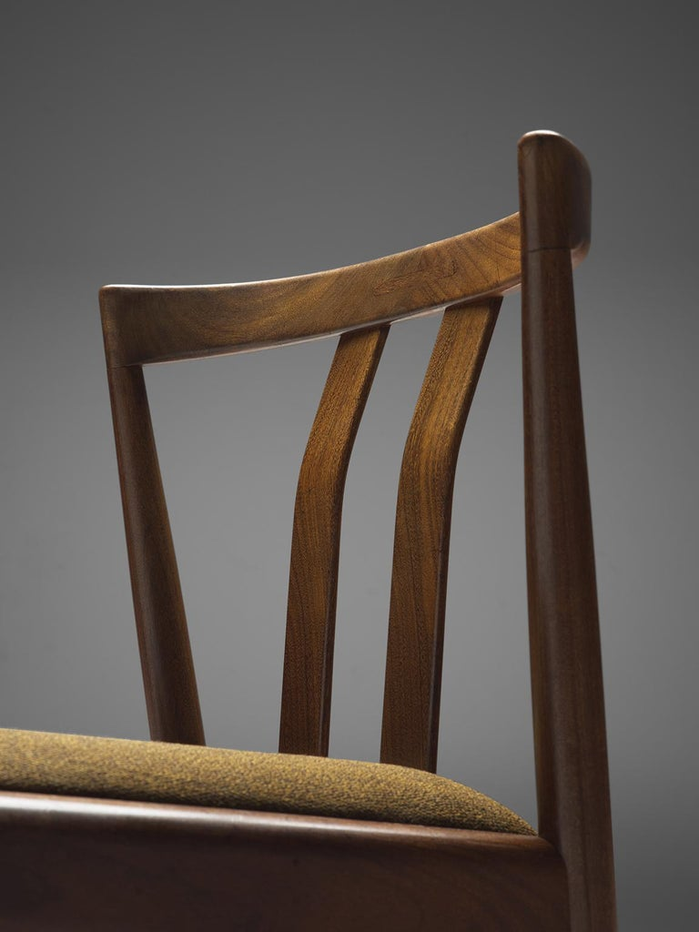 Danish Set of Six Teak Dining Chairs, 1960s For Sale 1