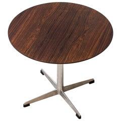 Danish Side Table by Arne Jacobsen for Fritz Hansen, Denmark, 1964