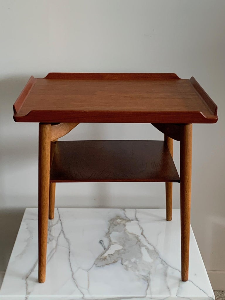 Danish Side Table by George Tanier For Sale 7