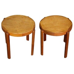 Danish Side Tables in Teak