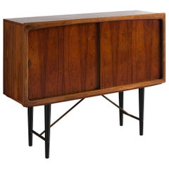 Danish Sideboard with Rosewood and Brass