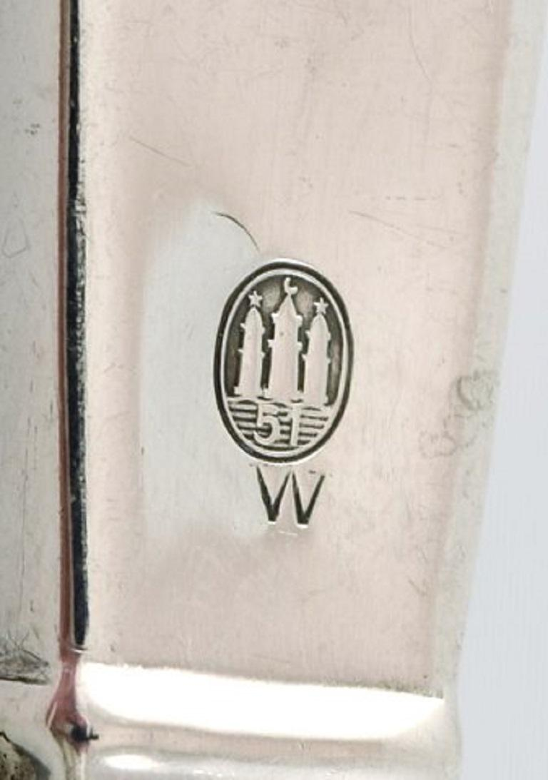 Danish Silversmith, Cake Knife in Silver, 1951 In Good Condition For Sale In Copenhagen, Denmark