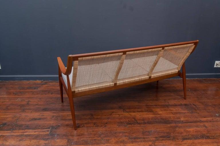 Teak Danish Sofa by Peter Hvidt and Orla Mølgaard-Nielsen For Sale