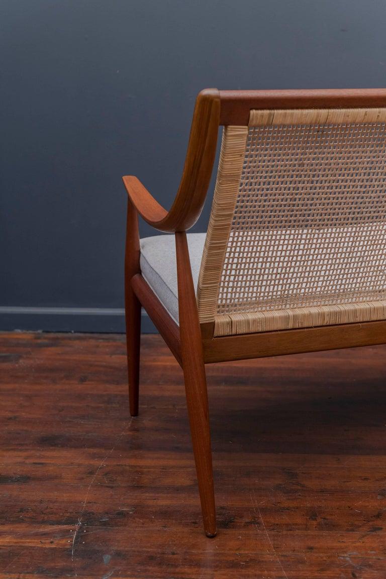 Danish Sofa by Peter Hvidt and Orla Mølgaard-Nielsen For Sale 1