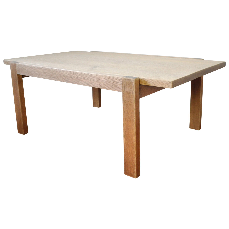 Danish Solid Oak Coffee or Side Table