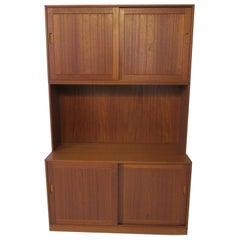 Danish Solid Teak 3-Piece Cabinet / Bookcase by Erik Brouer Mobelfabrik, Denmark