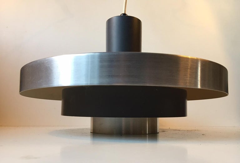 Late 20th Century Danish Space Age Ceiling Light from Fog & Mørup, 1960s For Sale