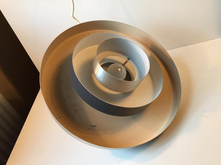 Danish Space Age Ceiling Light from Fog & Mørup, 1960s For Sale 1