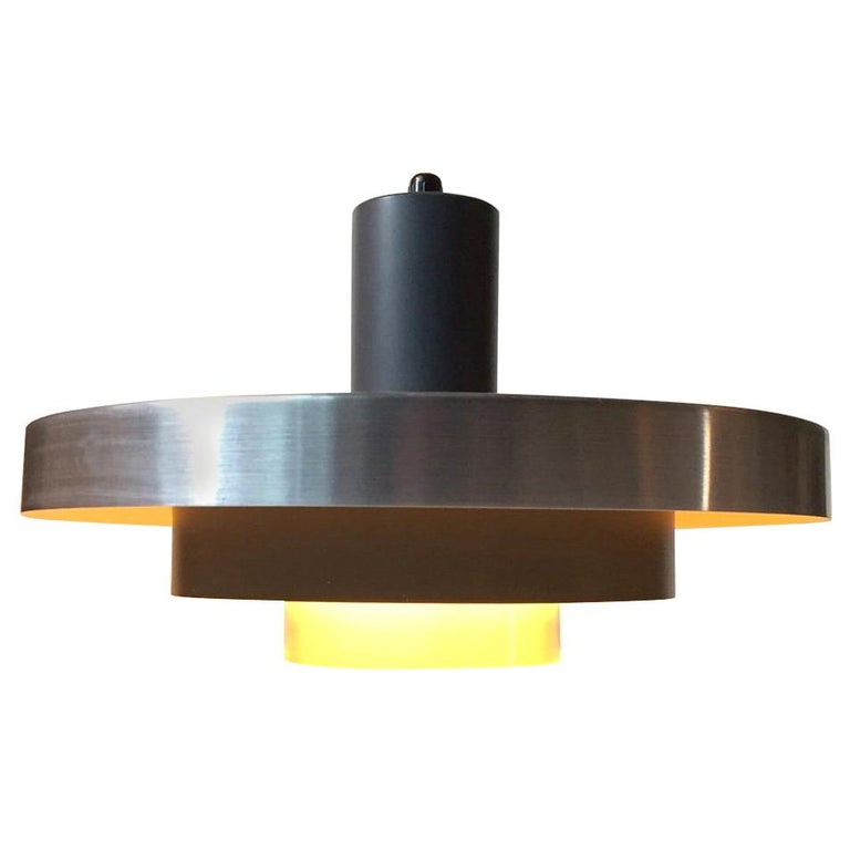 Danish Space Age Ceiling Light from Fog & Mørup, 1960s For Sale