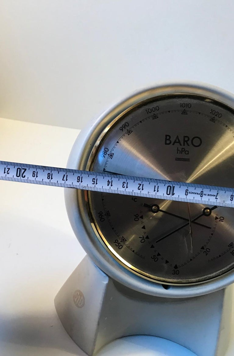 Danish Space Age Pottery Desk Weather Station from Søholm, 1970s For Sale 2