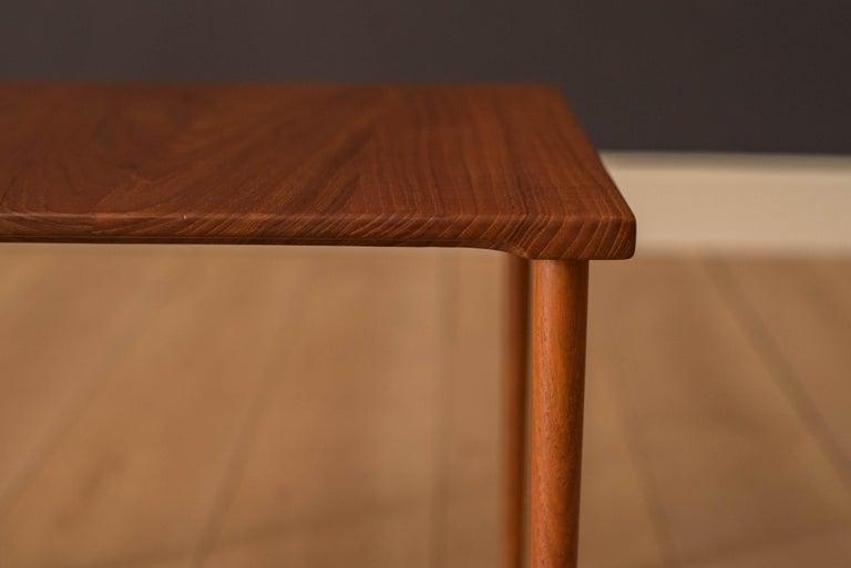 Danish Stacking Teak End Tables by France & Daverkosen For Sale 5