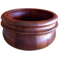 Danish Staved Teak Bowl