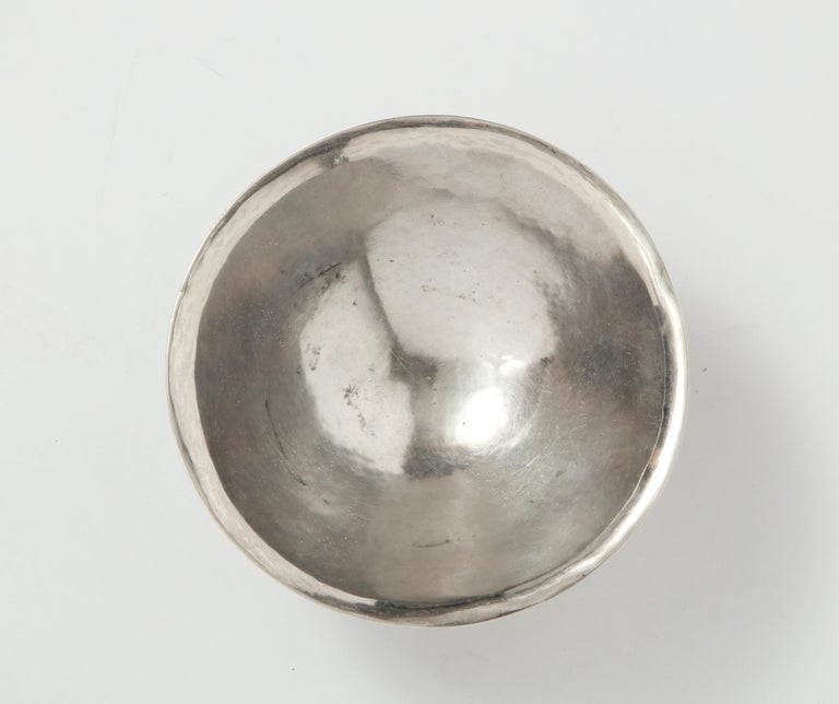 Danish Sterling Silver Footed Dish, circa 1950 For Sale 2