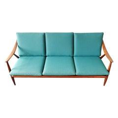 Danish Style 3-Seat Sofa by De Ster, Gelderland, Netherlands, 1960s