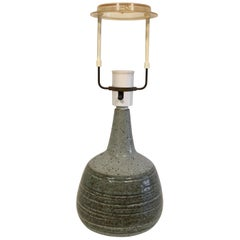Danish Table Lamp in Stoneware from Palshus