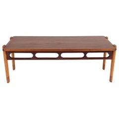 Danish Teak and Rosewood Coffee Table