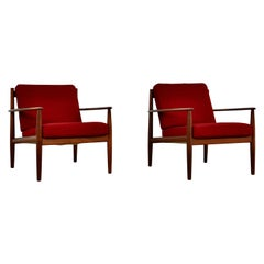 Danish Teak Armchairs by Grete Jalk for France & Søn, 1960s