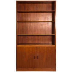 Danish Teak Cabinet Bookcase by Børge Mogensen for Povl Dinesen Furniture Co