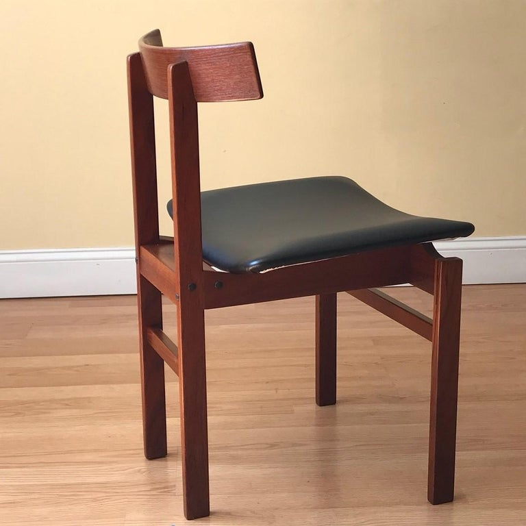 Mid-20th Century Danish Teak Chair Model #193 by Inger Klingenberg for France & Søn For Sale
