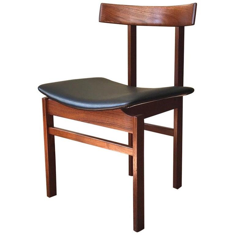 Danish Teak Chair Model #193 by Inger Klingenberg for France & Søn For Sale