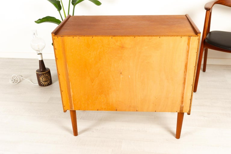 Danish Teak Chest of Drawers, 1960s For Sale 13