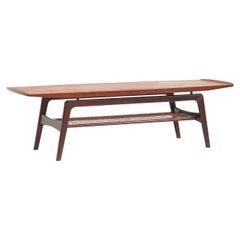 Danish Teak Coffee Table by Arne Hovmand-Olsen for Mogens Kold Møbelfabrik