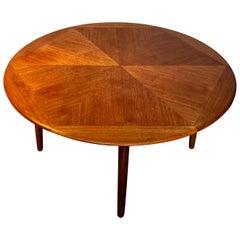 Danish Teak Coffee Table by H. W. Klein for Bramin, 1960s