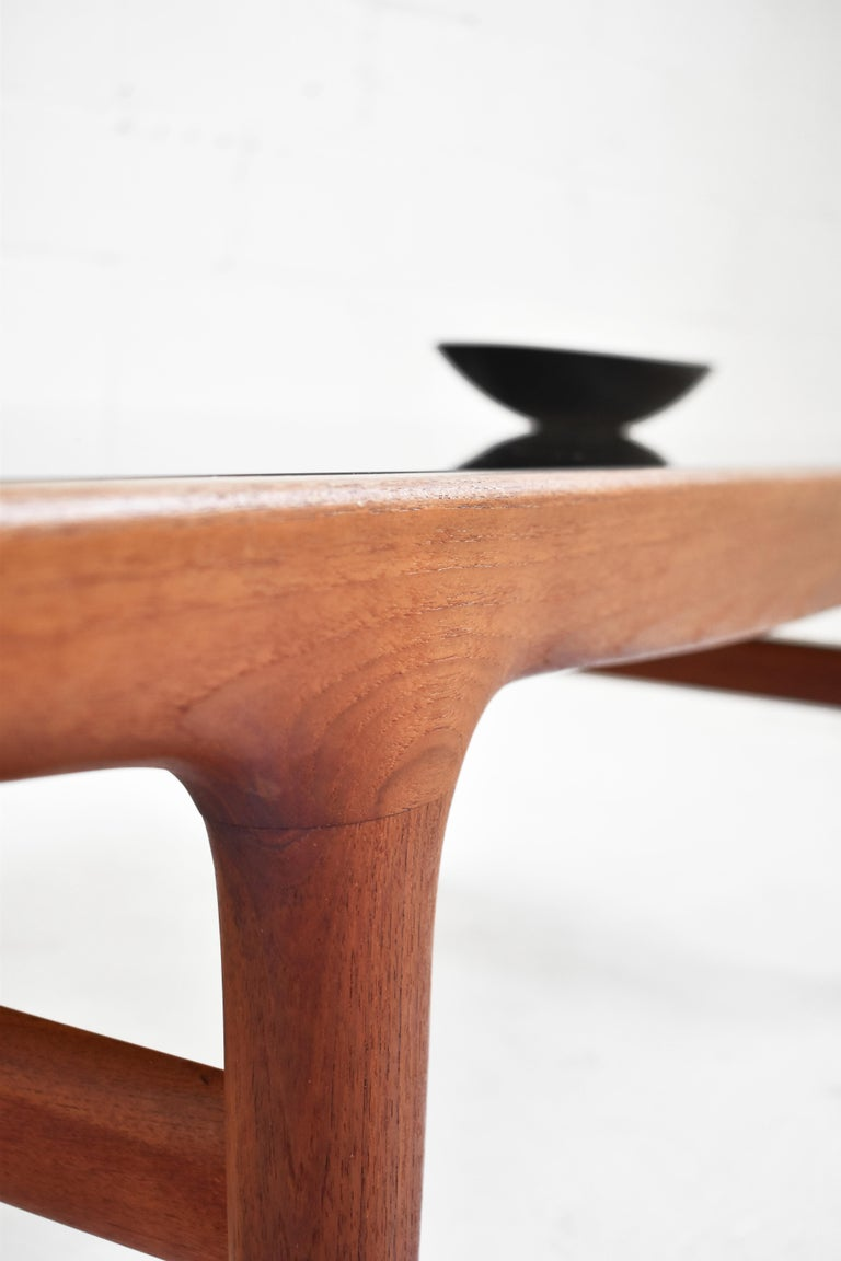 Mid-20th Century Danish Teak Coffee Table by Johannes Andersen for Uldum Møbelfabrik For Sale