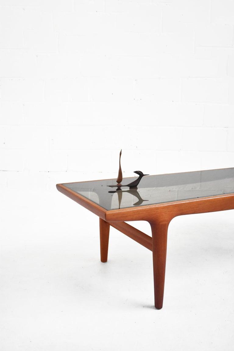 Danish Teak Coffee Table by Johannes Andersen for Uldum Møbelfabrik For Sale 1