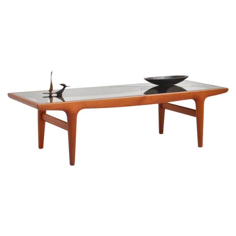 Danish Teak Coffee Table by Johannes Andersen for Uldum Møbelfabrik For Sale