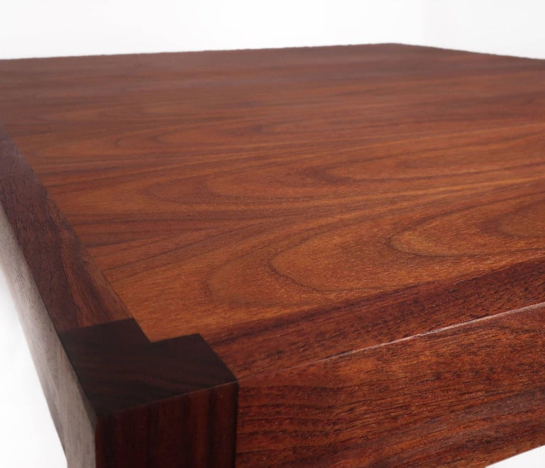Scandinavian Modern Danish Teak Coffee Table For Sale